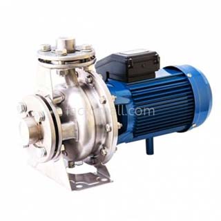 ปั๊มน้ำ VENZ รุ่น VMS32-160C 1.5kW 2HP 2Pole 220V หัวสแตนเลส ท่อเข้า 2 นิ้ว ท่อออก 1.25 นิ้ว