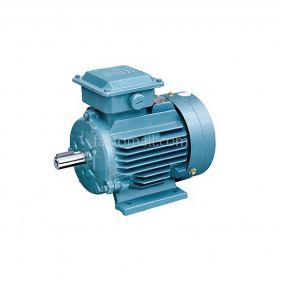 มอเตอร์ ABB M2QA1.1kW1.5HP2Pole 3000rpm ขนาด 80M2B แบบขาตั้ง รุ่น IMB3 เฟรมเหล็กหล่อ 3phase 230/400V