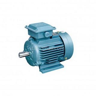 มอเตอร์ ABB M2QA4kW5.5HP2Pole 3000rpm ขนาด 112M2A แบบขาตั้ง รุ่น IMB3 เฟรมเหล็กหล่อ 3phase 230/400V