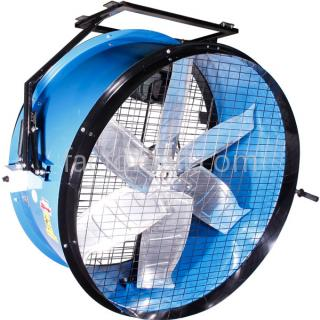 DRUM FAN Eurovent รุ่น DF-50H แบบแขวน 1HP 4Pole 3Phase 380V.