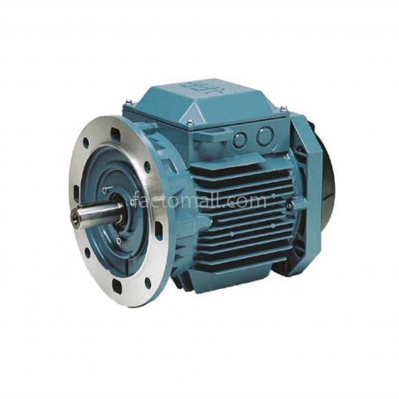 มอเตอร์ ABB M2QA 15kW 20HP 4Pole 1500rpm ขนาด 160L4A แบบหน้าแปลน (B5) เฟรมเหล็กหล่อ 3phase 400/690V