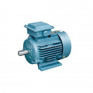 มอเตอร์ ABB M2QA1.1kW1.5HP6Pole 1000rpm ขนาด 90 L6A แบบขาตั้ง รุ่น IMB3 เฟรมเหล็กหล่อ 3phase 230/400V