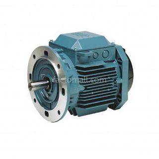 มอเตอร์ ABB M2QA1.1kW1.5HP6Pole 1000rpm ขนาด 90 L6A แบบหน้าแปลน (B5) เฟรมเหล็กหล่อ 3phase 230/400V