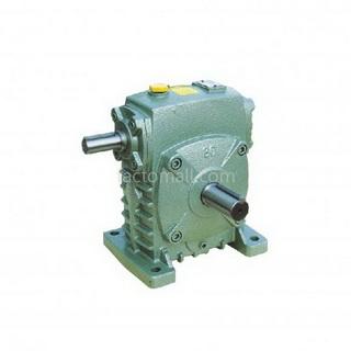 เกียร์มอเตอร์ Kimpo worm gear KA(PR) ขนาด80(22) อัตราทด10 2HP แบบเหล็กหล่อ