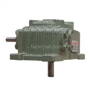 เกียร์มอเตอร์ Kimpo worm gear KVB(PO-RD) ขนาด175(45) อัตราทด10 15HP แบบเหล็กหล่อ